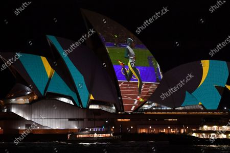 Editorial picture of 20th anniversary of Cathy Freeman's 400m Olympic win, Sydney, Australia - 25 Sep 2020