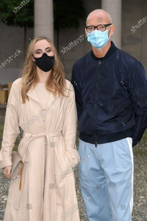 Suki Waterhouse and Ingo Wilts in the front row