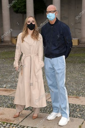 Stock Photo of Suki Waterhouse and Ingo Wilts in the front row
