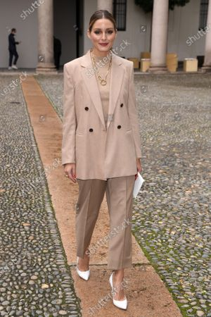 Olivia Palermo in the front row