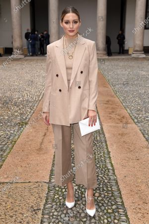 Stock Image of Olivia Palermo in the front row