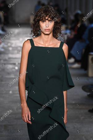 Mica Arganaraz on the catwalk