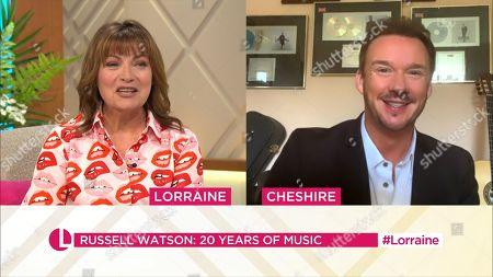 Lorraine Kelly, Russell Watson