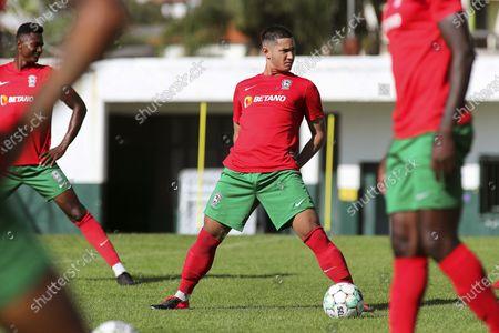 Editorial photo of Maritimo's new player Faiq Jefri Bolkiah, Funchal, Portugal - 25 Sep 2020