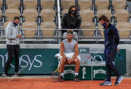 Editorial photo of FranceFrench Open Virus, Paris, France - 25 Sep 2020