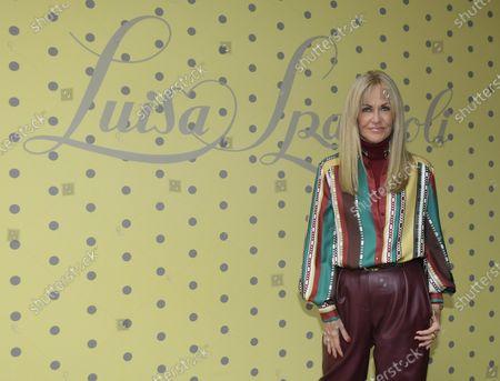Editorial photo of Luisa Spagnoli show, Arrivals, Spring Summer 2021, Milan Fashion Week, Italy - 25 Sep 2020