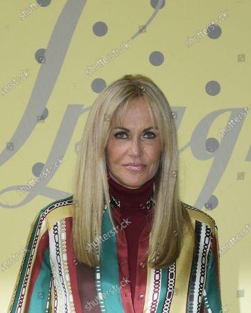 Editorial image of Luisa Spagnoli show, Arrivals, Spring Summer 2021, Milan Fashion Week, Italy - 25 Sep 2020