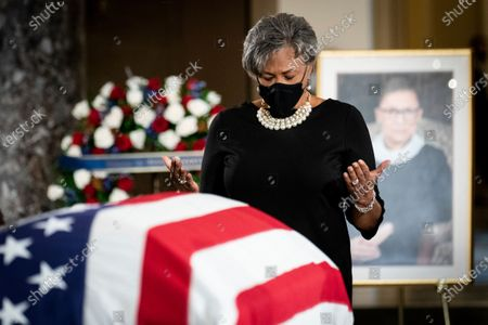 Editorial image of Supreme Court Ginsburg Lying in State, Washington, United States - 25 Sep 2020