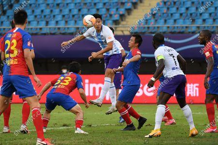 Editorial photo of China Suzhou Football Csl Qingdao Huanghai vs Tianjin Taida - 25 Sep 2020
