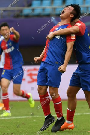 Editorial picture of China Suzhou Football Csl Qingdao Huanghai vs Tianjin Taida - 25 Sep 2020