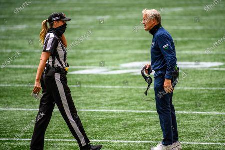 Editorial photo of NFL Notes Football, Atlanta, United States - 13 Sep 2020