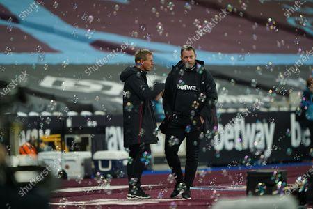 Editorial image of West Ham United v Wolverhampton Wanderers, Premier League, Football, The London Stadium, London, UK - 27 Sep 2020