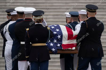 Editorial picture of Late Justice Ginsburg lies in state, Washington, USA - 25 Sep 2020