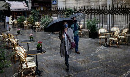Redakční snímek na téma Covid19 coronavirus cases surge in France, Paris - 25 Sep 2020
