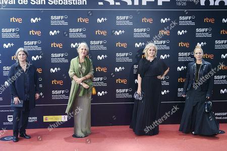 Editorial picture of 'OSO' (Bear) premiere, 68th San Sebastian International Film Festival, Spain - 25 Sep 2020
