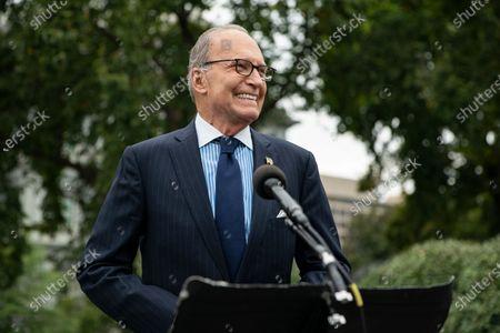 Editorial picture of Kudlow Speaks to the Press, Washington, USA - 25 Sep 2020