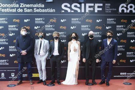 Editorial picture of 'Antidisturbios' premiere, 68th San Sebastian International Film Festival, Spain - 25 Sep 2020