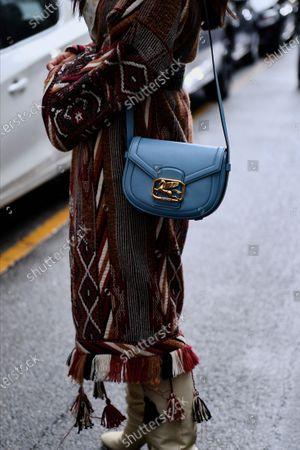 Tamara Kalinic, bag detail