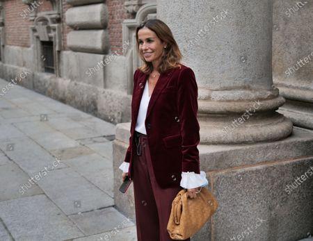 Editorial photo of Max Mara street style, Milan, Italy/ Milan, Italy - 24 Sep 2020