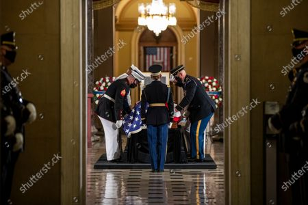 Editorial image of Late Justice Ginsburg lies in state in Washington, DC, USA - 25 Sep 2020