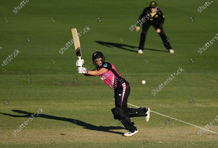 Editorial image of T20 International match between Australia and New Zealand, Brisbane - 26 Sep 2020