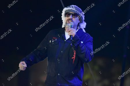B-Real of Cypress Hill, performs during the Concerts In Your Car series at the Ventura County Fairgrounds, in Ventura, Calif