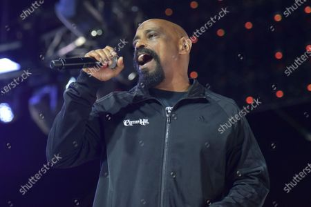 Sen Dog of Cypress Hill, performs during the Concerts In Your Car series at the Ventura County Fairgrounds, in Ventura, Calif