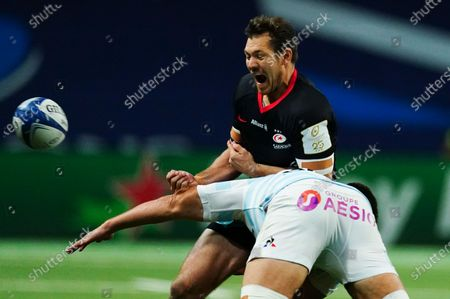 Editorial picture of Racing 92 v Saracens, Heineken European Rugby Champions Cup Semi-final, Rugby Union, Paris La Defense Arena, Paris, France - 26 Sep 2020