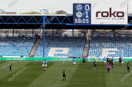 Tom James of Wigan Athletic scores his sides second goal.