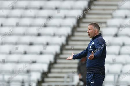 Darren Ferguson manager of Peterborough United