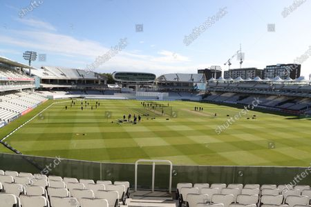 General view during Somerset CCC vs Essex CCC, Bob Willis Trophy Final Cricket at Lord's Cricket Ground on 26th September 2020