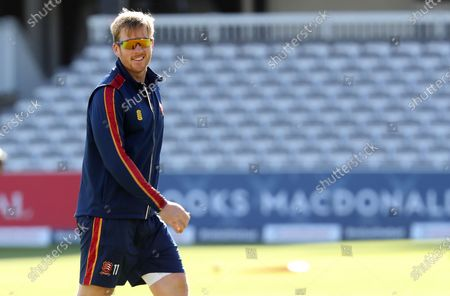 Simon harmer of Essex leaves the field following his warm up during Somerset CCC vs Essex CCC, Bob Willis Trophy Final Cricket at Lord's Cricket Ground on 26th September 2020