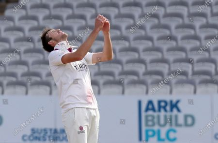 Craig Overton of Somerset shows his frustration during Somerset CCC vs Essex CCC, Bob Willis Trophy Final Cricket at Lord's Cricket Ground on 26th September 2020