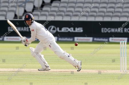 Stock Picture of Aaron Beard of Essex in batting action during Somerset CCC vs Essex CCC, Bob Willis Trophy Final Cricket at Lord's Cricket Ground on 26th September 2020