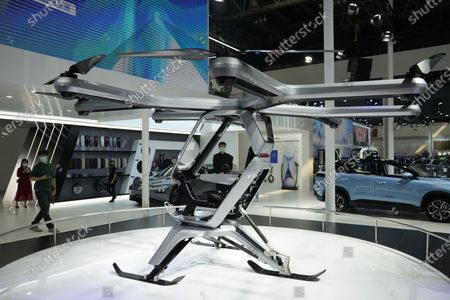 Kiwigogo flying vehicle prototype by Xpeng Motors Editorial Stock Photo -  Stock Image   Shutterstock