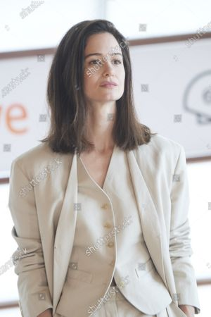 Katherine Waterston attended 'The world to come' Photocall during 68th San Sebastian International Film Festival at Kursaal Palace on September 26, 2020 in Donostia / San Sebastian, Spain