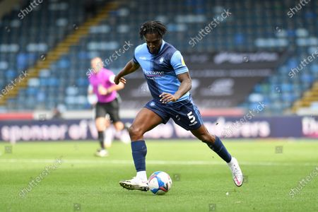Wycombe Wanderers Anthony Stewart (5) during the EFL Sky Bet Championship match between Wycombe Wanderers and Swansea City at Adams Park, High Wycombe