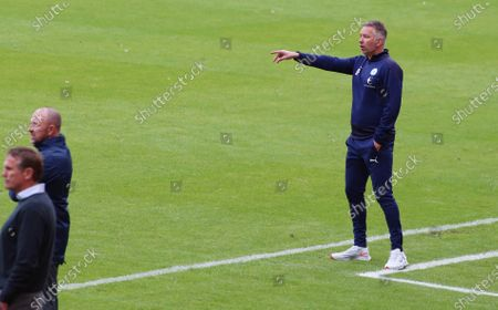 Peterborough United Manager Darren Ferguson on the touchline against Sunderland