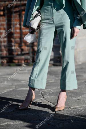 Lotte Verbeek Shoes detail