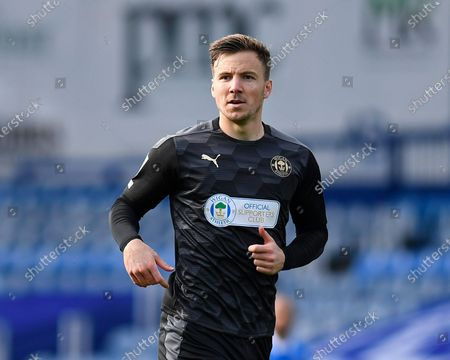 Lee Evans of Wigan Athletic during Portsmouth vs Wigan Athletic, Sky Bet EFL League 1 Football at Fratton Park on 26th September 2020