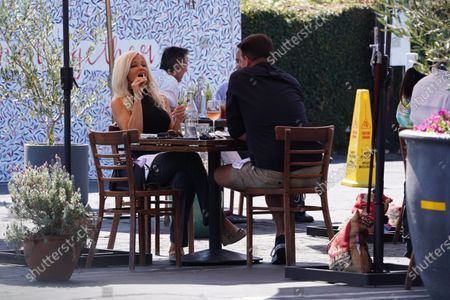 Editorial photo of Donna D'Errico out and about, Los Angeles, California, USA - 25 Sep 2020