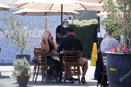 Editorial picture of Donna D'Errico out and about, Los Angeles, California, USA - 25 Sep 2020