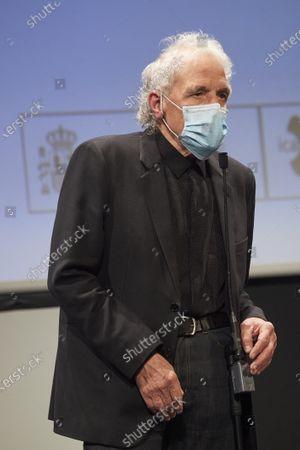 Abel Ferrara attended 'Supportin' Life' Presentation during 68th San Sebastian International Film Festival at Victoria Eugeia Teather on September 26, 2020 in Donostia / San Sebastian, Spain