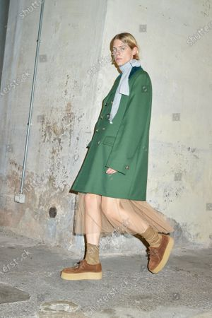 Editorial photo of Womenswear, summer 2021, Milano, Andrea Pompilio, Italy - 26 Sep 2020
