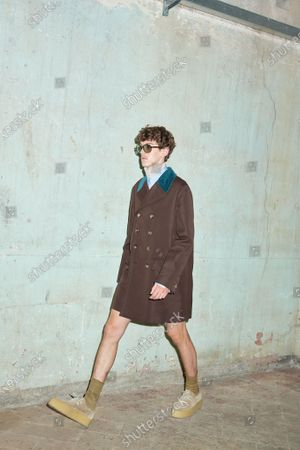 Editorial picture of Womenswear, summer 2021, Milano, Andrea Pompilio, Italy - 26 Sep 2020