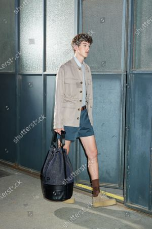 Editorial image of Womenswear, summer 2021, Milano, Andrea Pompilio, Italy - 26 Sep 2020
