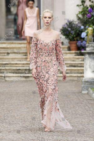 Editorial image of Womenswear, summer 2021, Milano, Elisabetta Franchi, Italy - 21 Sep 2020