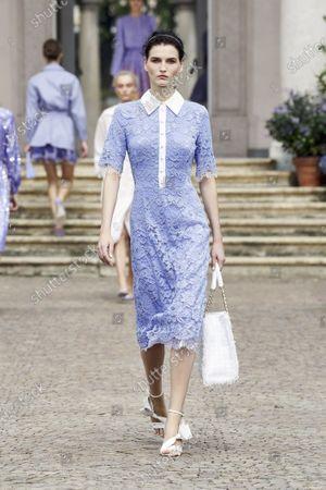 Editorial photo of Womenswear, summer 2021, Milano, Elisabetta Franchi, Italy - 21 Sep 2020