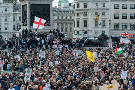 'Unite for Freedom' rally, London