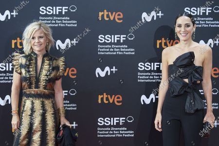 Tamara Falco and Eugenia Martinez de Irujo